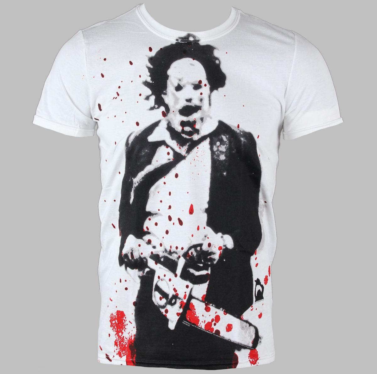 tričko pánské Horror - The Texax Chainsaw Massacre - Leatherface - PLASTIC HEAD - PH7231