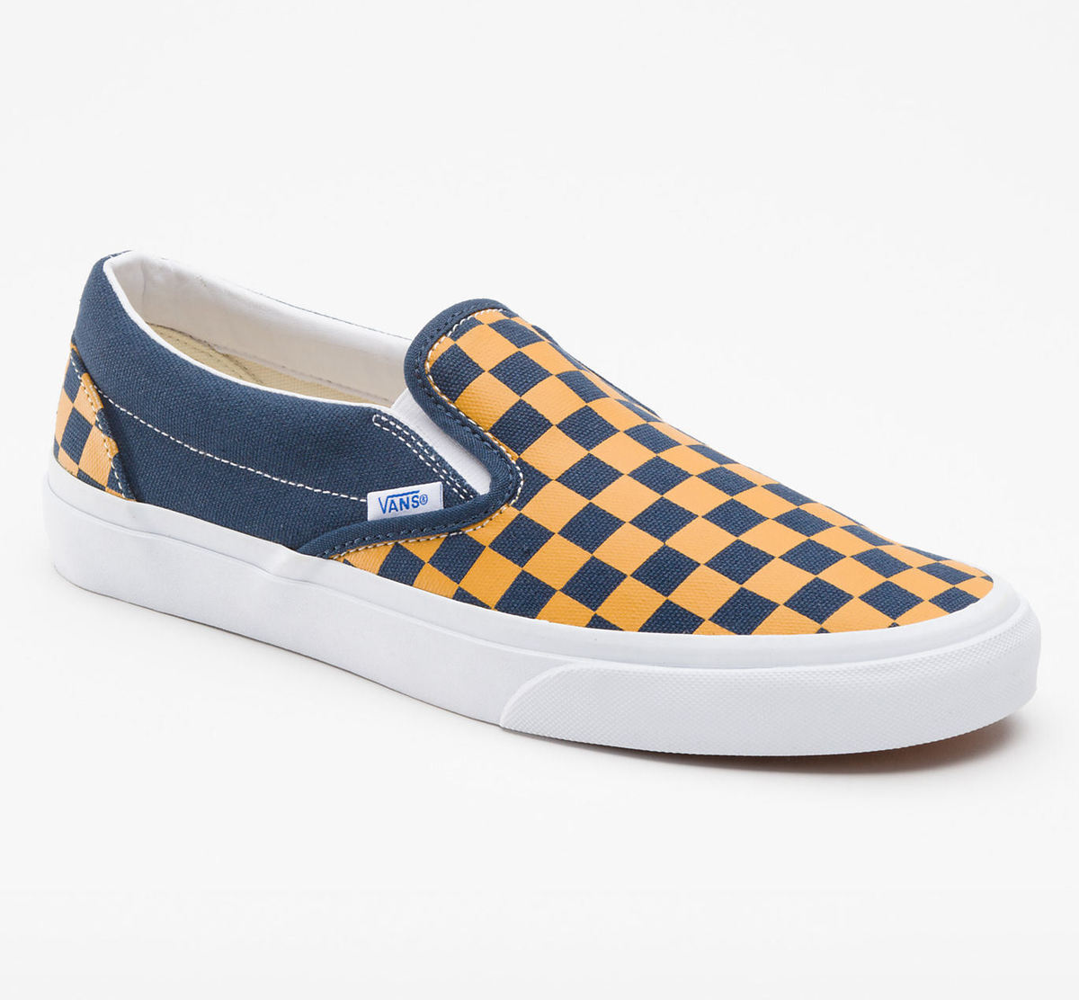 boty VANS - Classic Slip-on (Vintage Check) - Dress Bly - VKYK7SX