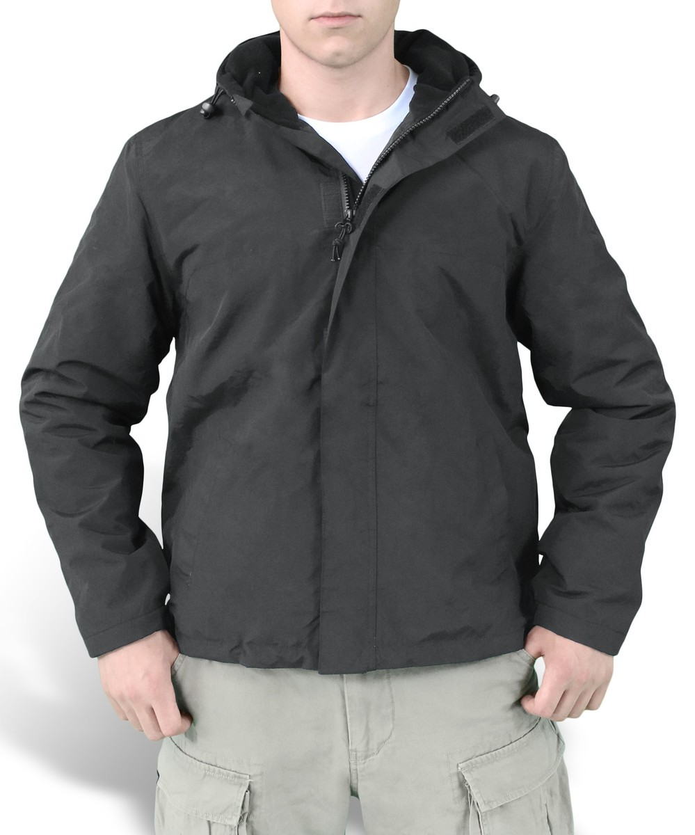 bunda pánská (větrovka) SURPLUS - Windbreaker - Black - 20-7002-03