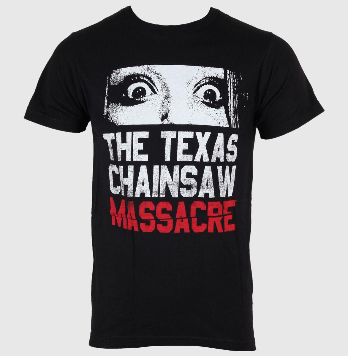 tričko pánské Texas Chainsaw Massacre - Don't Look Now - Black - IMPACT - TCM05