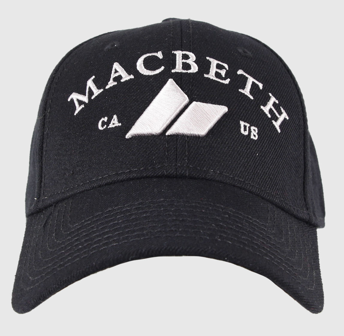 kšiltovka MACBETH - CA - Black