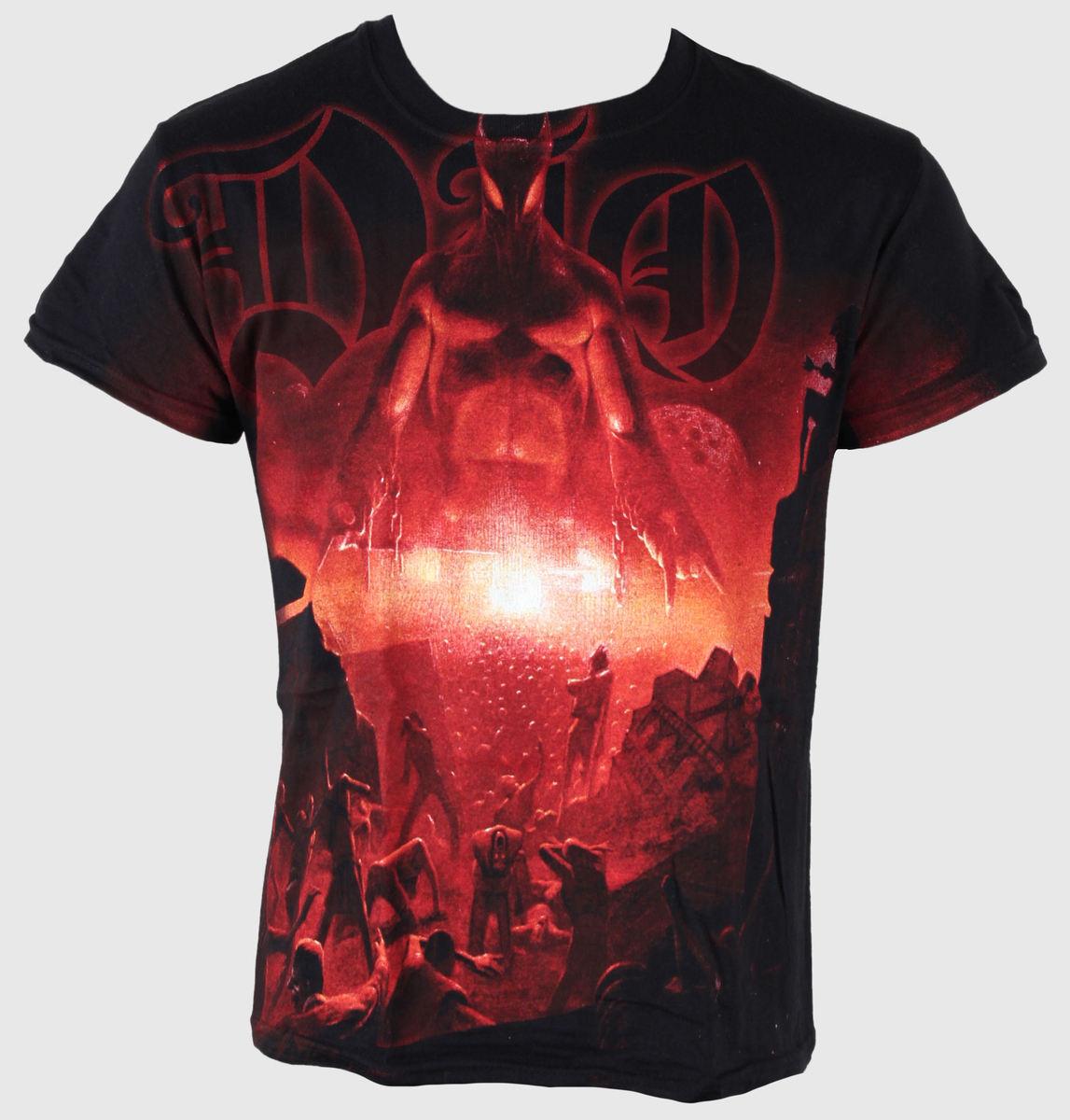 tričko pánské Dio - Last In Line Allover - JSR - DIO156
