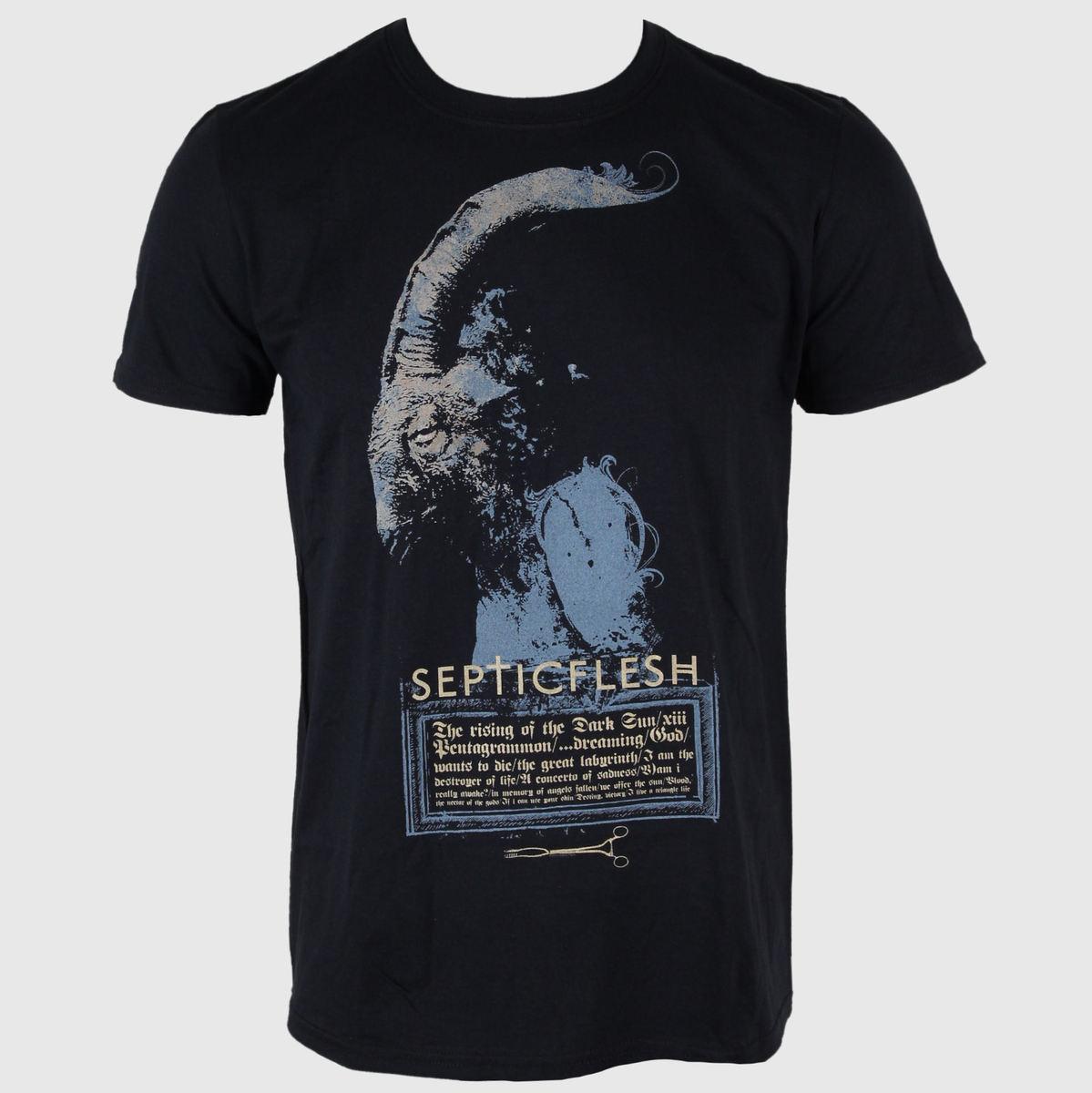 tričko pánské Septic Flesh - Gray Goat-2012 Dates - JSR - SPF111