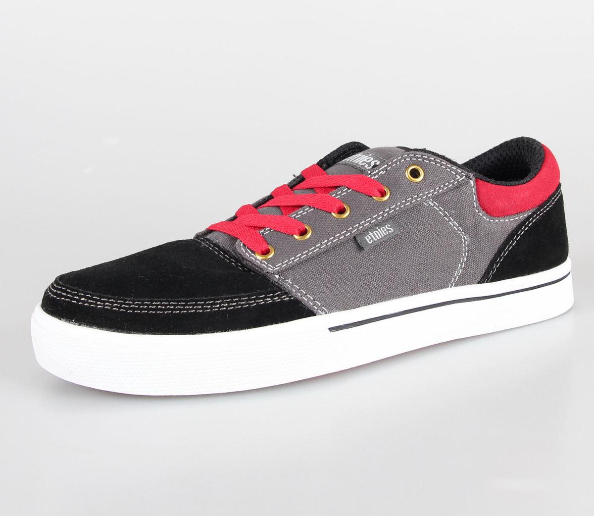 boty pánské ETNIES - Brake - Black/Grey/Red