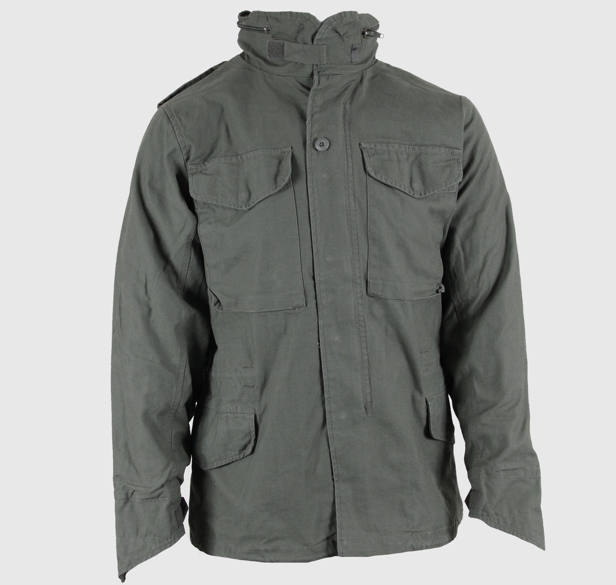 bunda pánská M65 Fieldjacket NYCO washed - OLIV - 100304