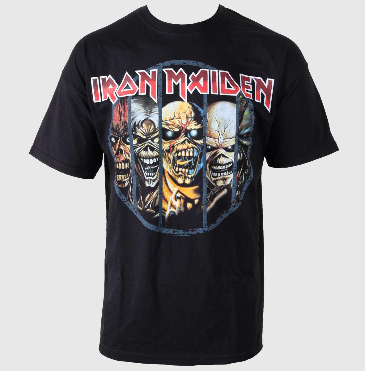 tričko pánské Iron Maiden - Eddie Candle - ROCK OFF - IMTEE02MB05