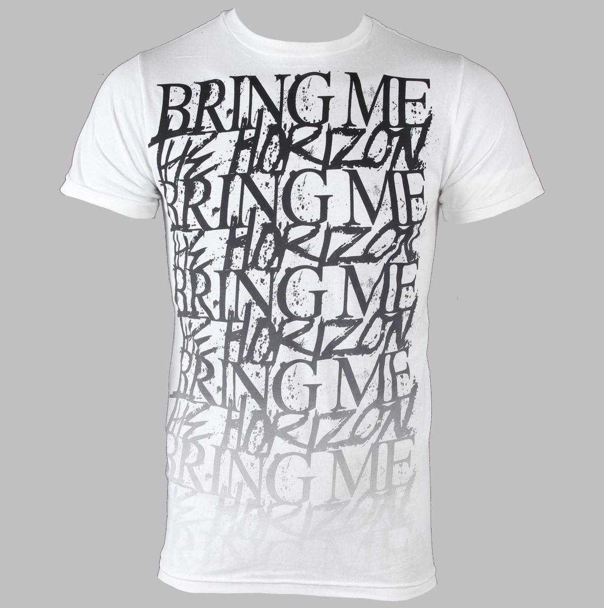 tričko pánské Bring Me The Horizon - Stacked - BRAVADO - BMH1015