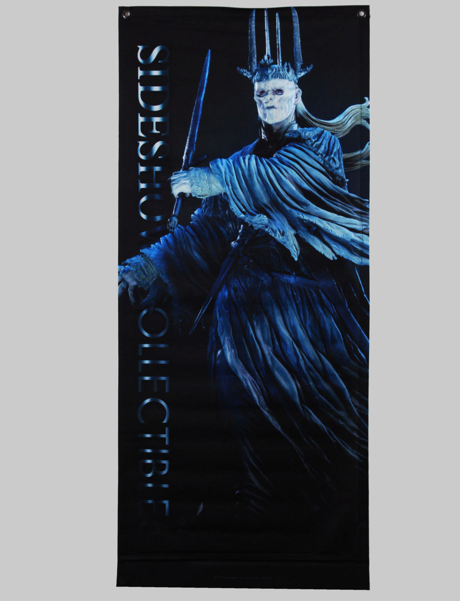 vlajka (banner) Pán prstenů - The Witch King - 76x183 - SSBAN004L