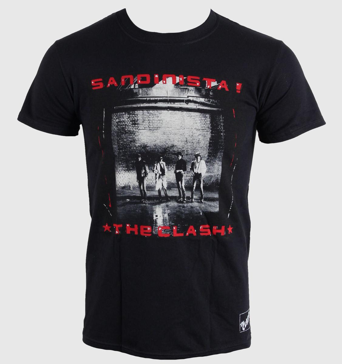 tričko pánské The Clash - Sandinista - LIVE NATION - 014806