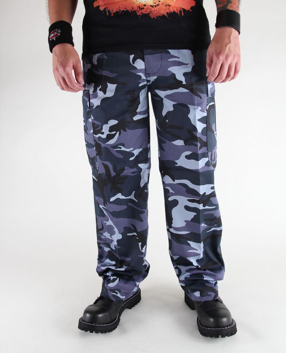kalhoty pánské BRANDIT - US Ranger Hose Skyblue - 1006/18