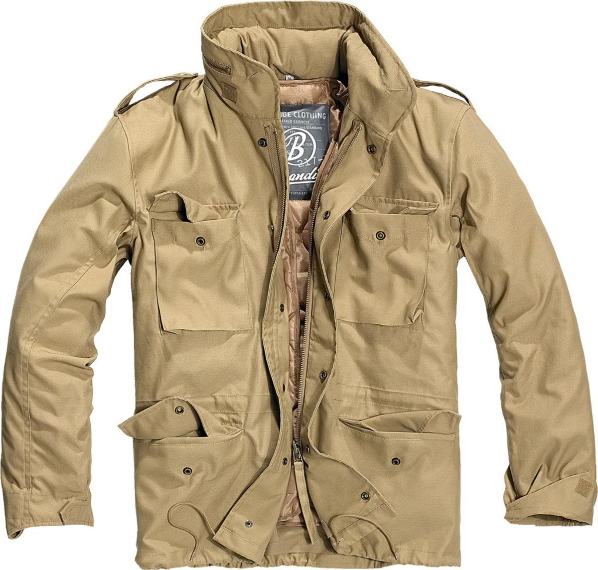 bunda pánská zimní BRANDIT - M65 Standard Camel - 3108/70