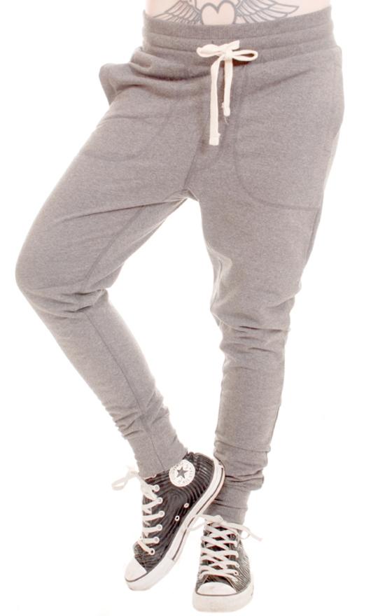 kalhoty unisex (tepláky) 3RDAND56th - Carrot Fit Jogger - Gr. Melange - JM1008