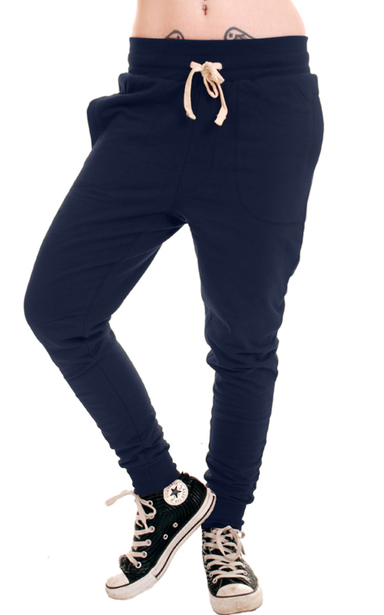 kalhoty unisex (tepláky) 3RDAND56th - Carrot Fit Jogger - Navy - JM1008