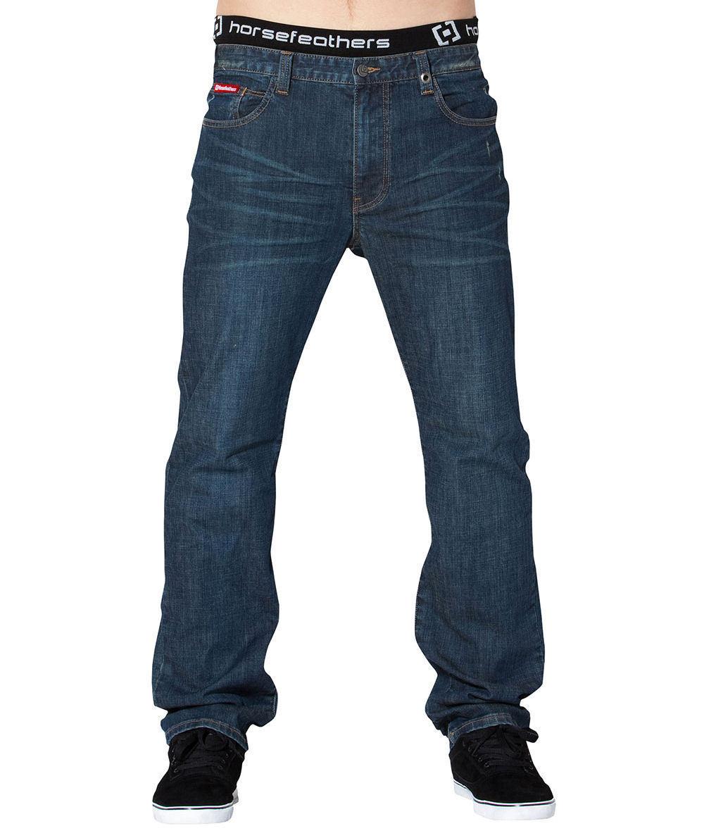 kalhoty pánské -jeansy- HORSEFEATHERS - Terminal