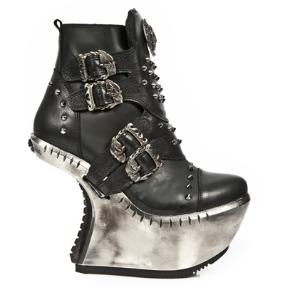 boty NEW ROCK - EXT010-R1 - NOMADA NEGRO