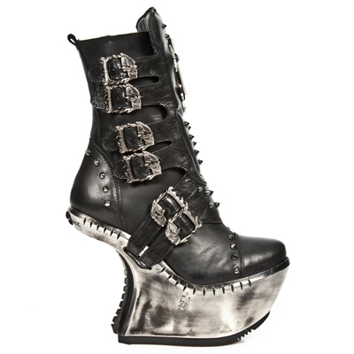 boty NEW ROCK - EXT005-S1 - ITALI NEGRO