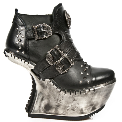 boty NEW ROCK - EXT008-S1 - NOMADA NEGRO