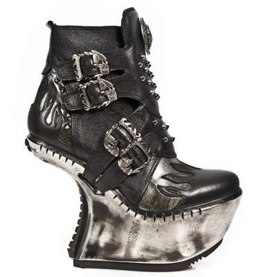 boty NEW ROCK - EXT011-S1 - NOMADA NEGRO