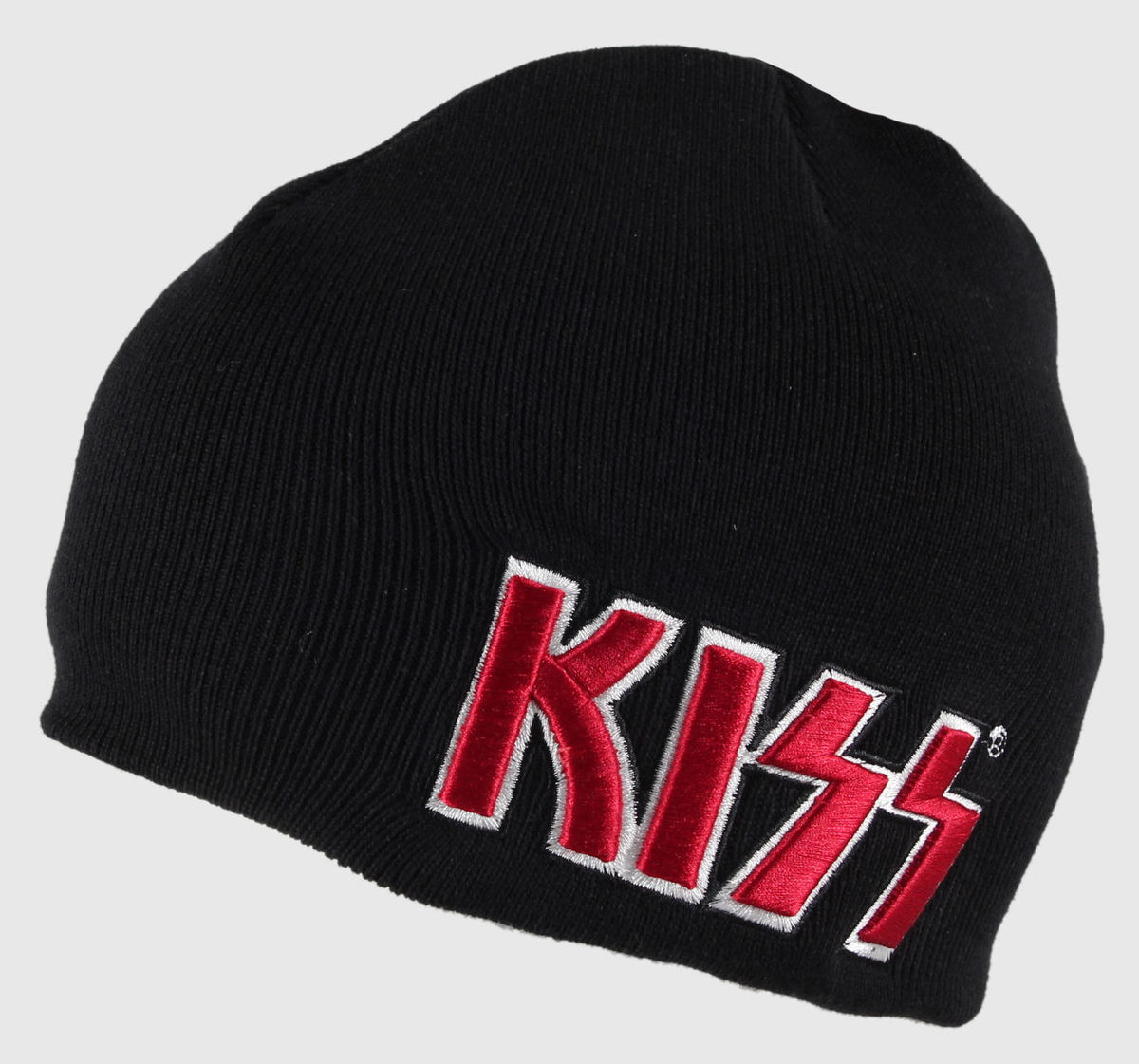 kulich Kiss - Red on White Logo - ROCK OFF - KISSBEAN03