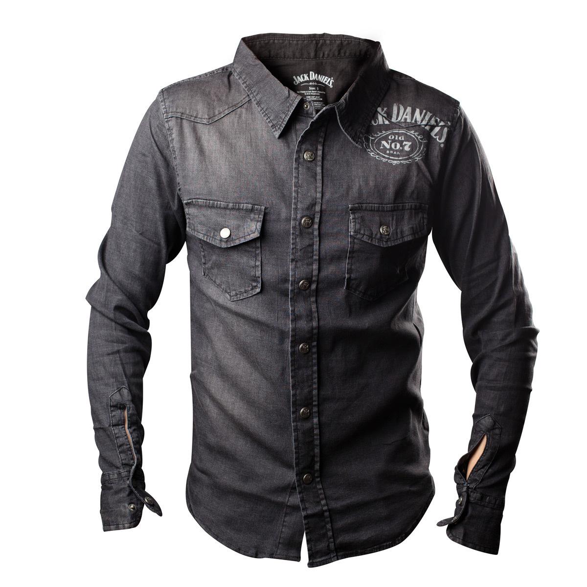 košile pánská Jack Daniels - BIOWORLD - WO255617JDS