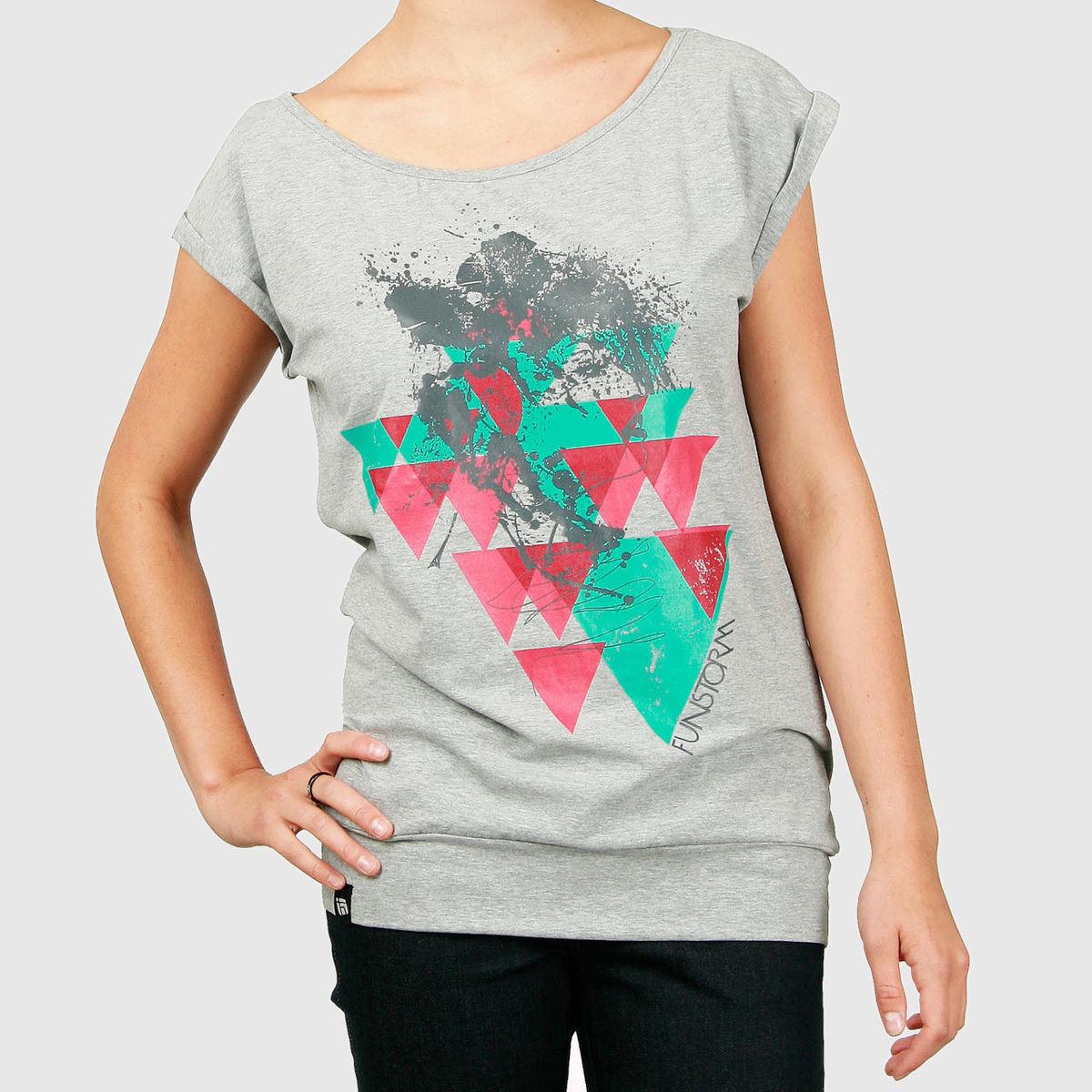 tričko dámské -top- FUNSTORM - Ilcox - 19 GREY
