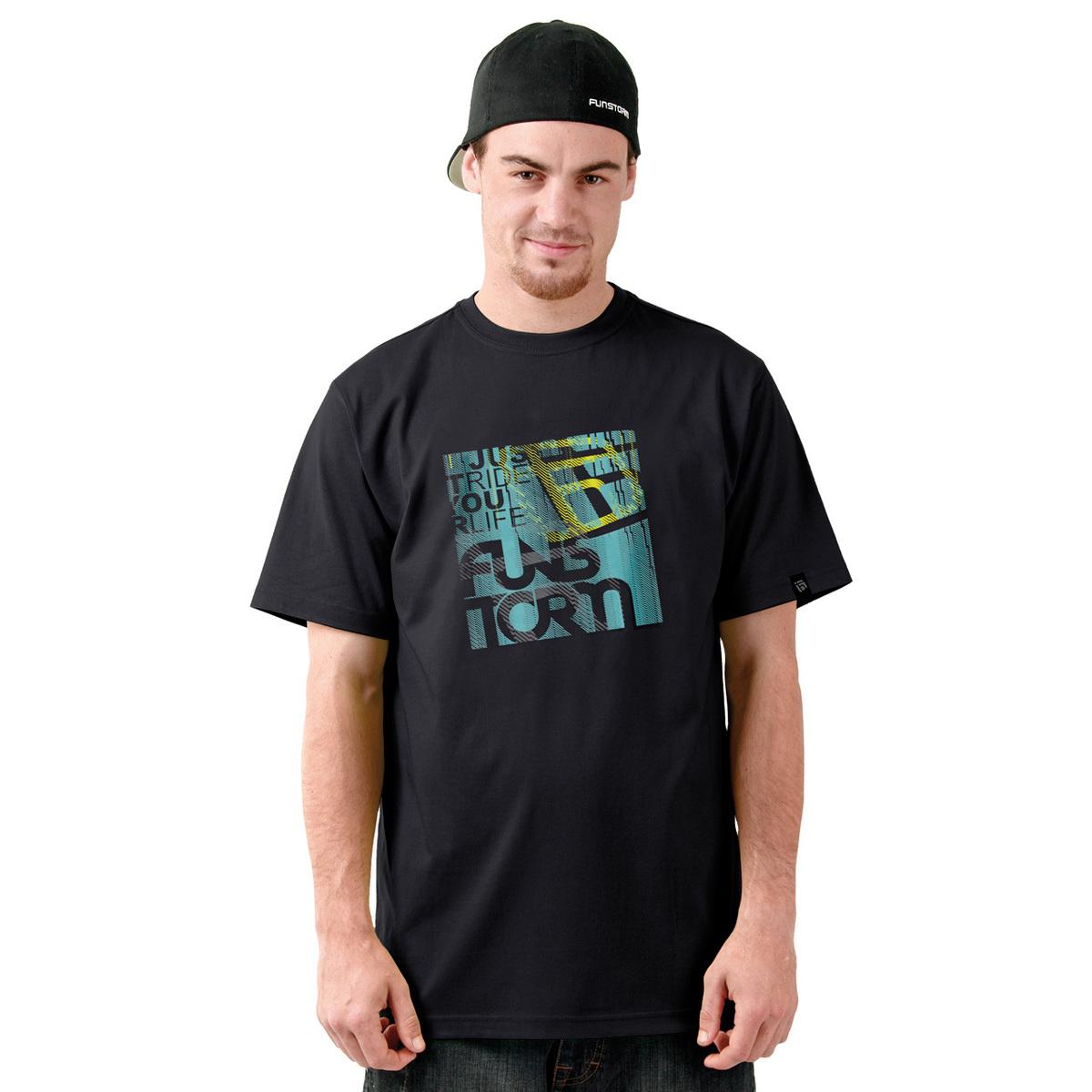 tričko pánské FUNSTORM - Shaw - 21 BLACK