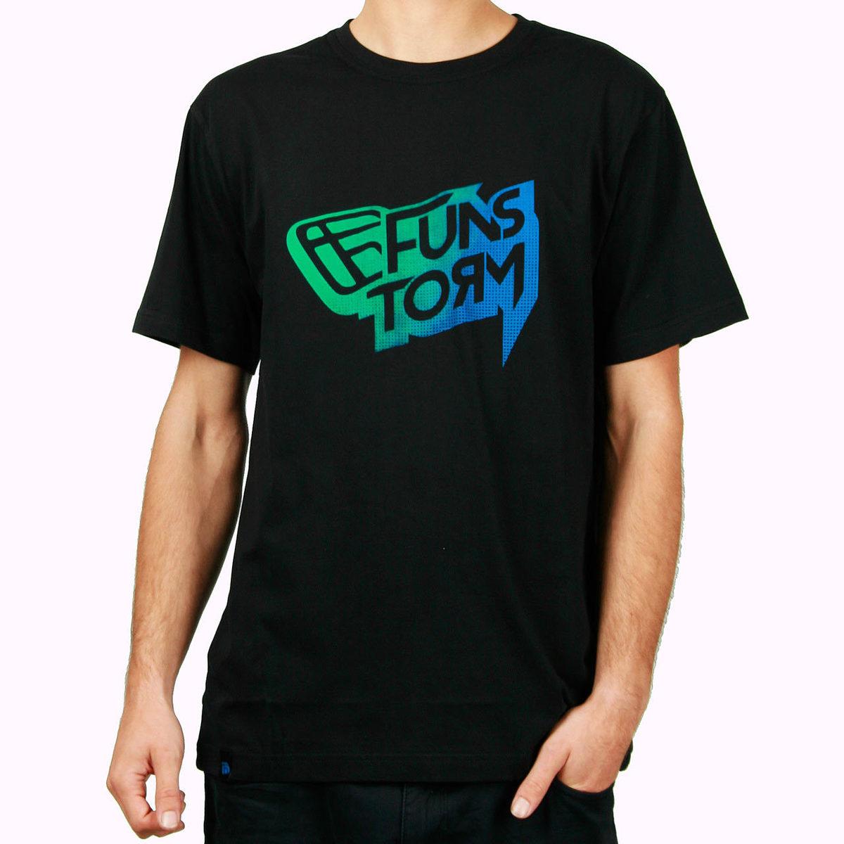 tričko pánské FUNSTORM - Manot - 21 BLACK