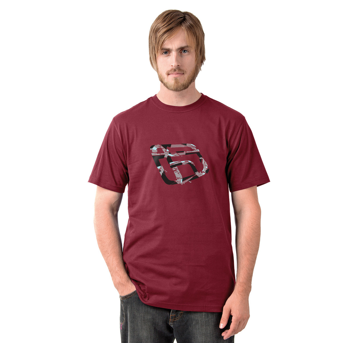tričko pánské FUNSTORM - Kerrs - 24 RED