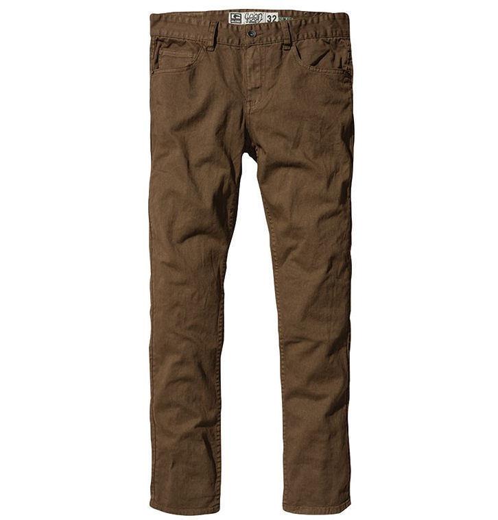 kalhoty pánské GLOBE - Goodstock - Toffee