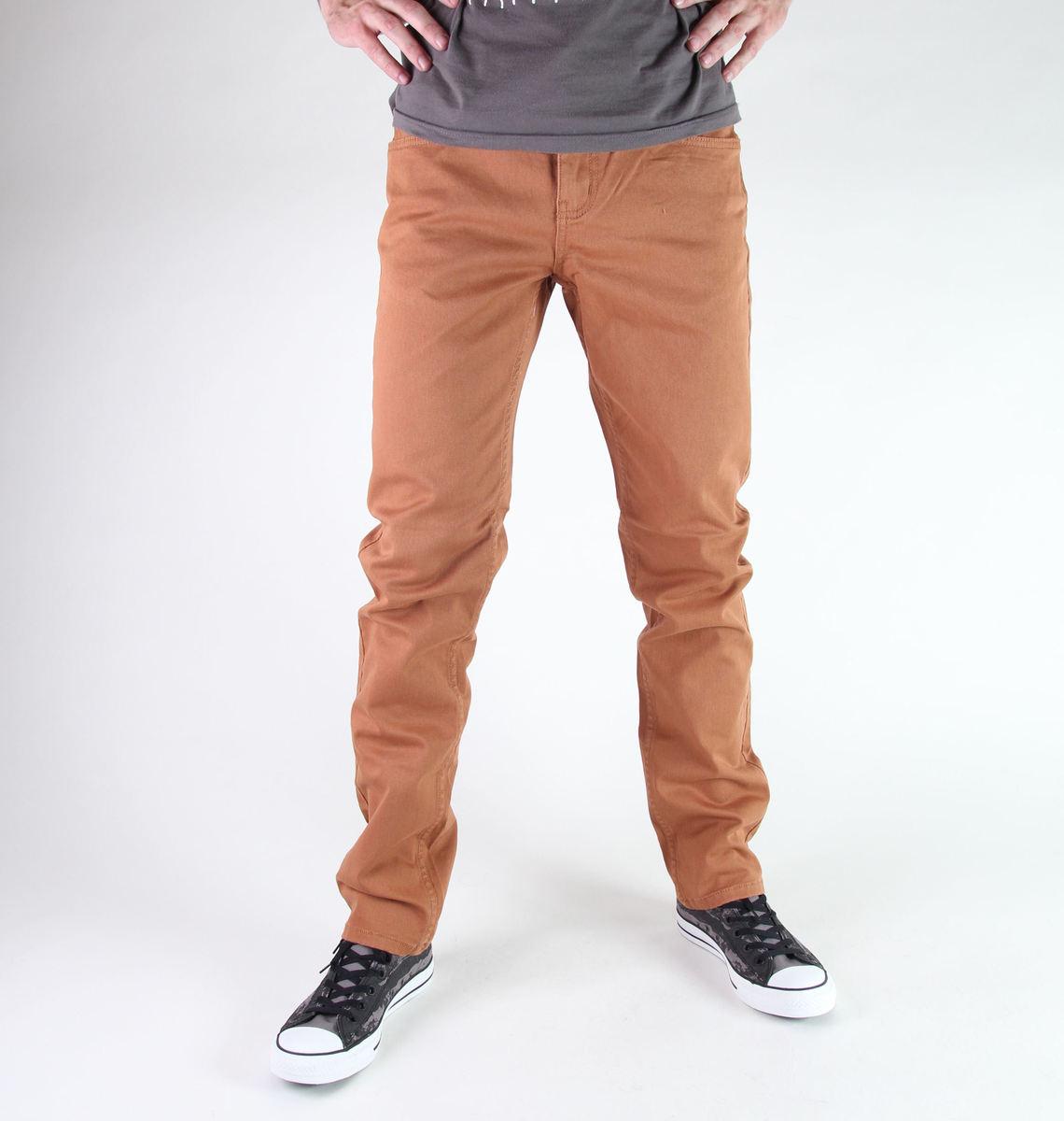 kalhoty pánské GLOBE - Goodstock - Clay
