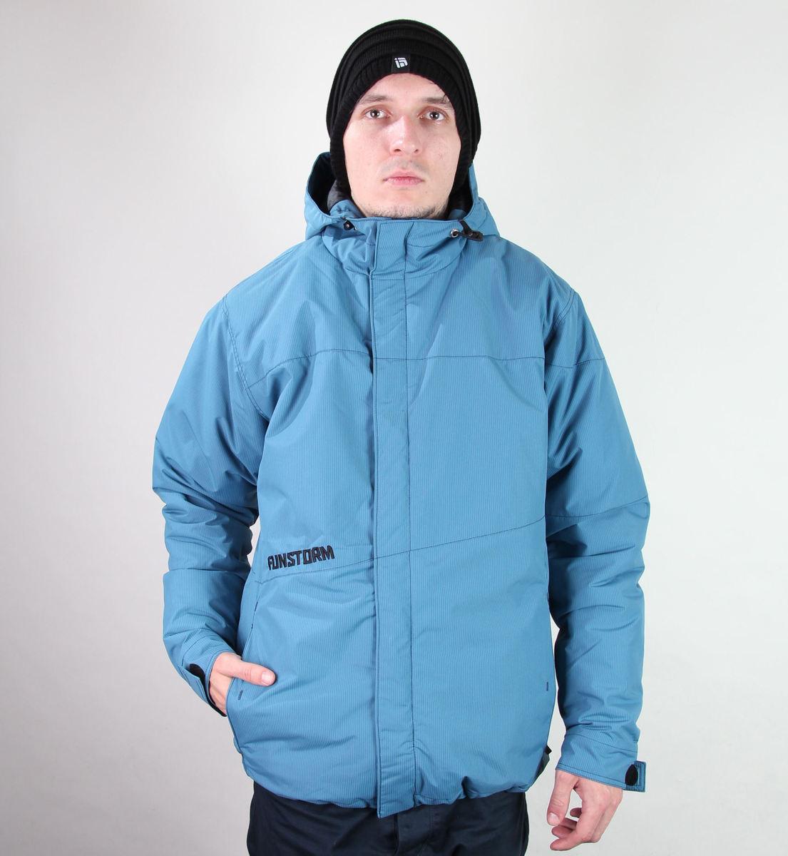 bunda pánská zimní -snb- FUNSTORM - Folum - 15 NAVY