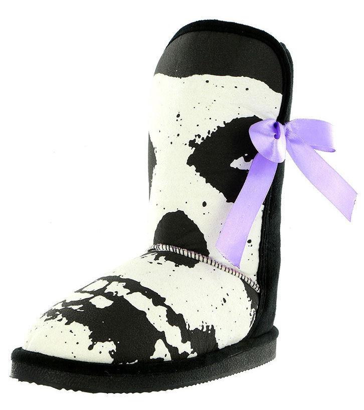 boty-válenky IRON FIST - Misfits Fugly Boot - BLACK