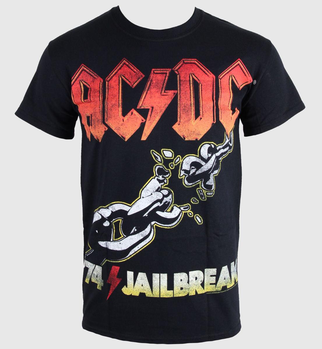 tričko pánské AC/DC - 74 Jailbreak - LIVE NATION - RTACDC38790