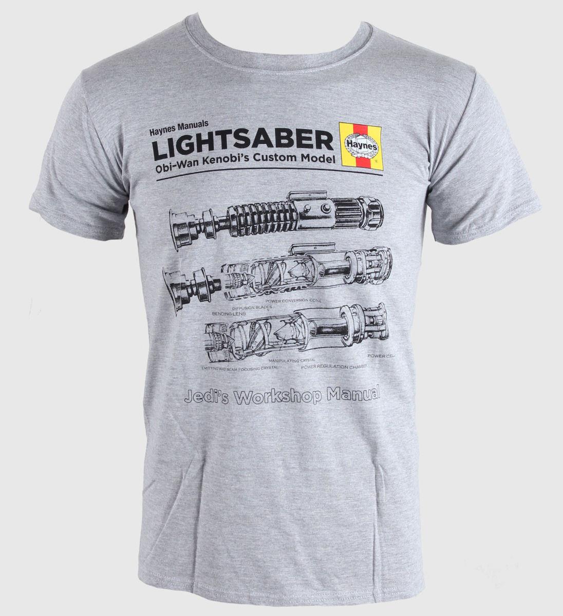 tričko pánské Star Wars - Lightsaber - INDIE61821