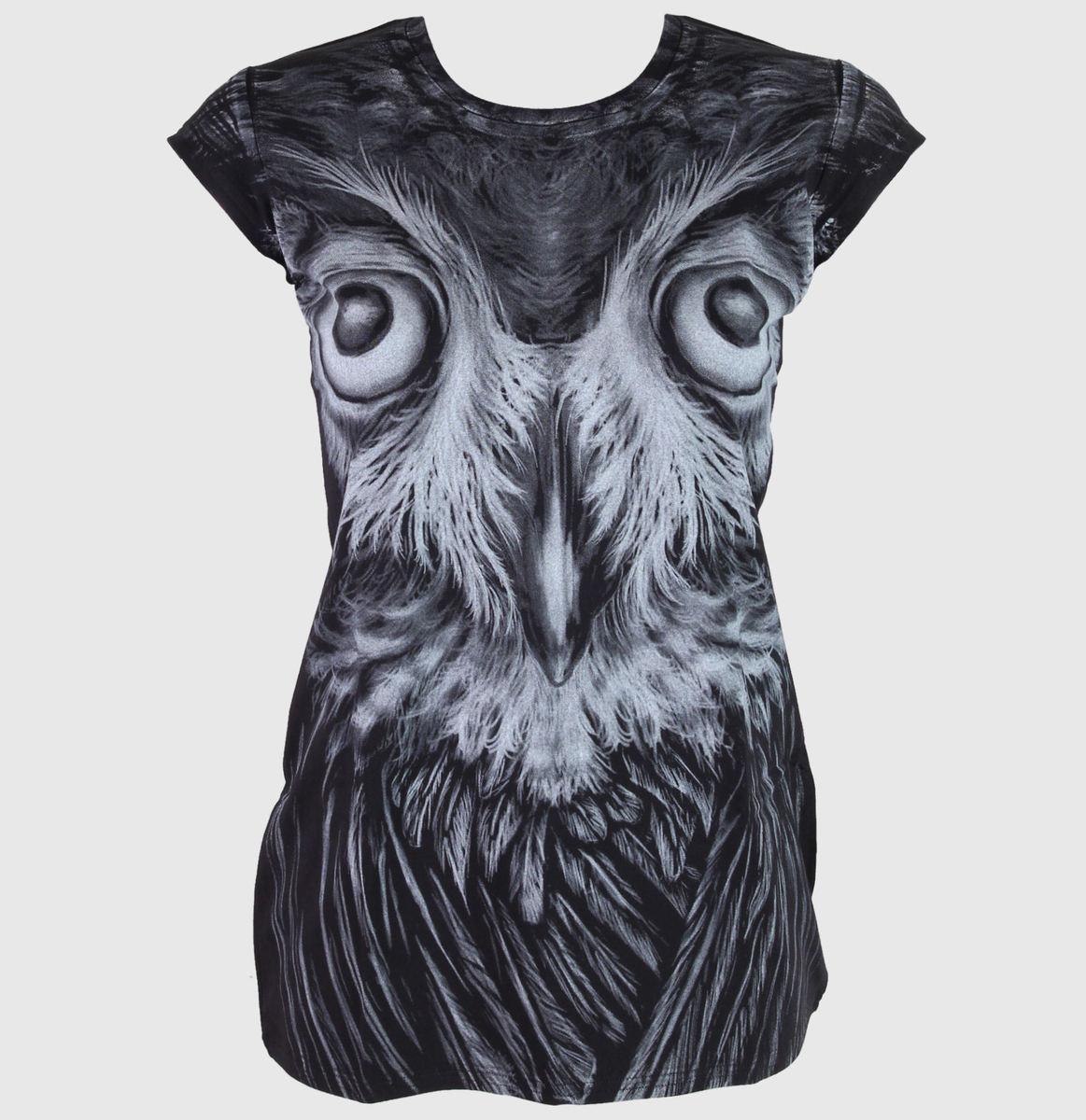 tričko dámské (tunika) ALISTAR - Owl - ALI006