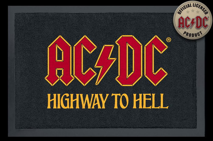 rohožka ACDC - Highway To Hell - ROCKBITES - 100817