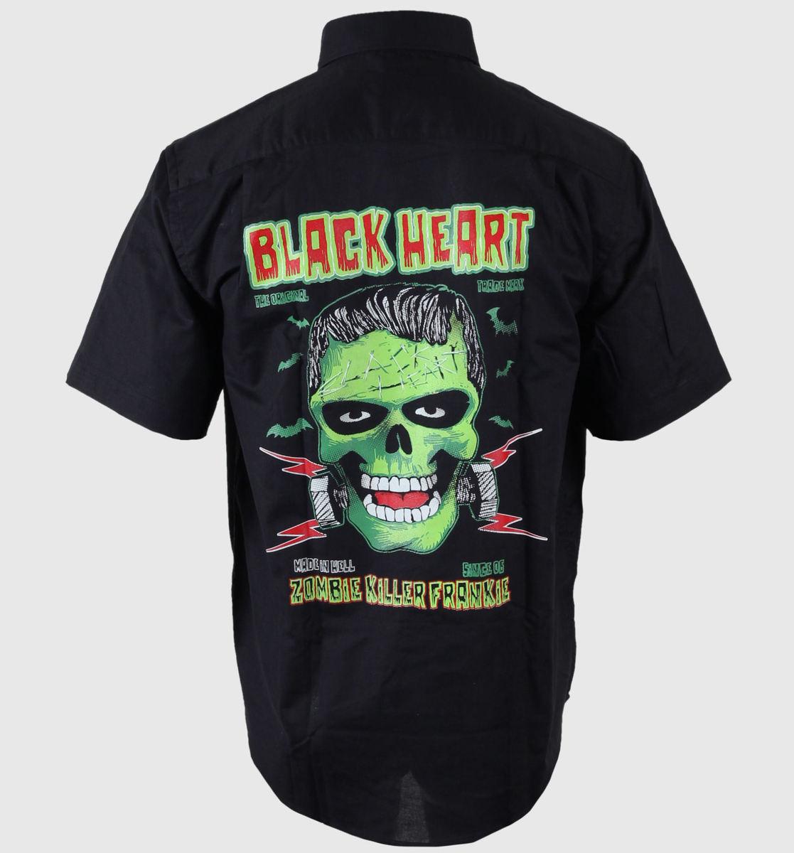 košile pánská BLACK HEART