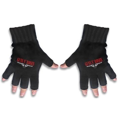 rukavice bezprsté Guns N Roses - Logo&Pistols - RAZAMATAZ - FG036