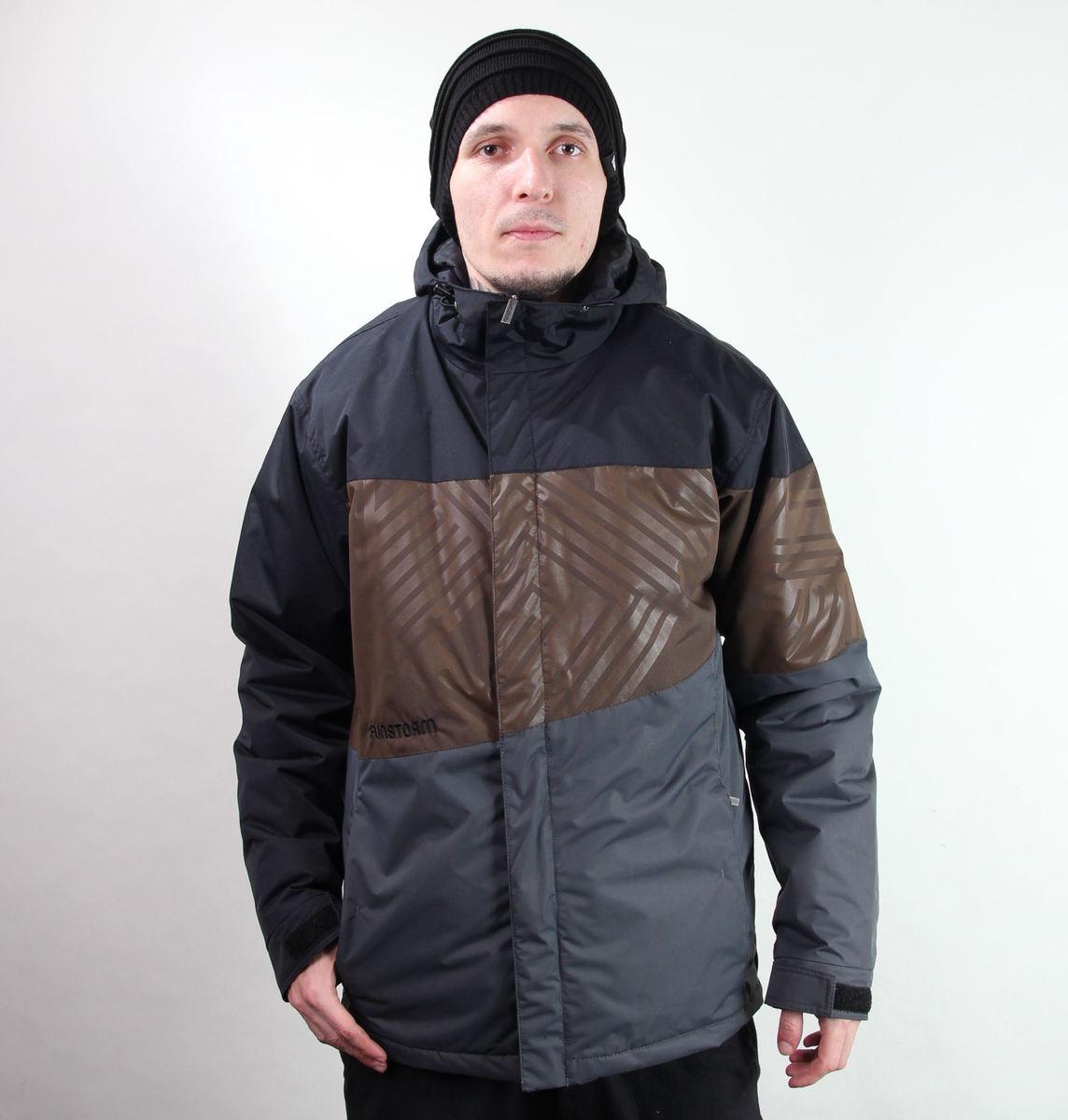 bunda pánská zimní -snb- FUNSTORM - Darwen - 20 D GREY
