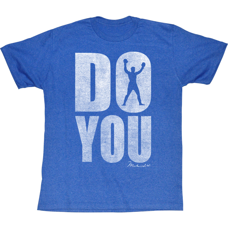 tričko pánské Muhammad Ali - Do You - AC - ALI5160