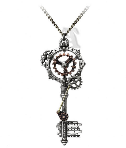 obojek ALCHEMY GOTHIC - Septagramic Coercion Gearwheel - P671