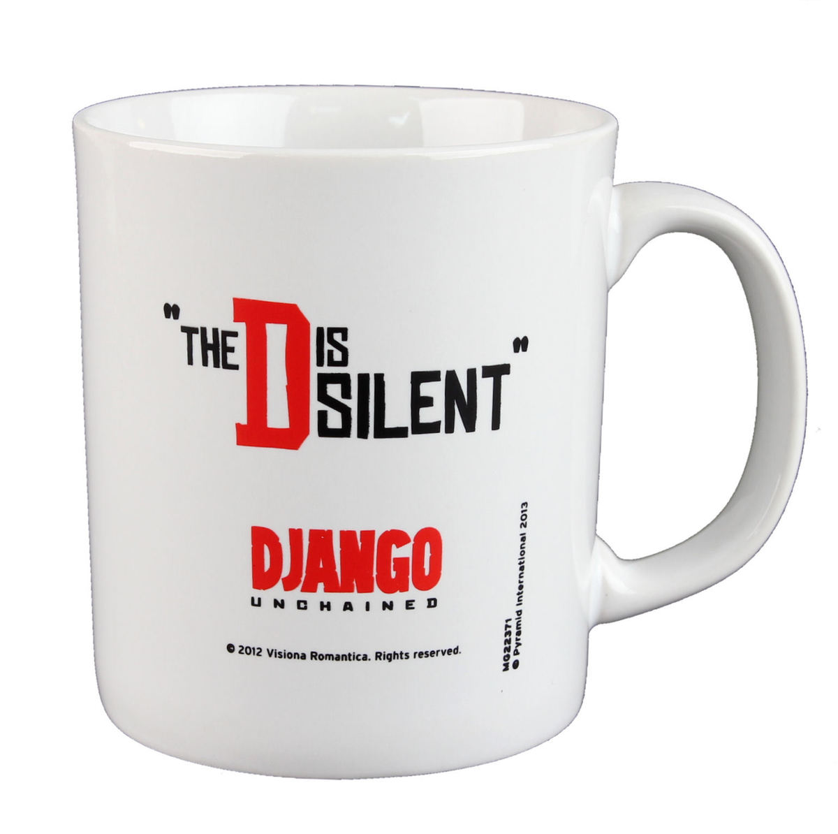 hrnek Django - Unchained - The D Is Silent - PYRAMID POSTERS - MG22371