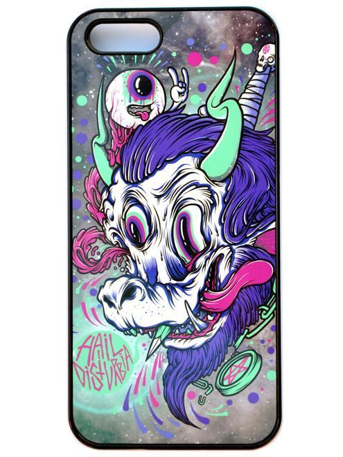 kryt na mobil DISTURBIA - iPHONE4 - Space Goat - 226