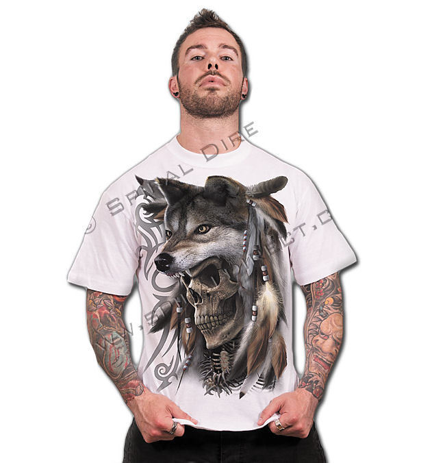 tričko pánské SPIRAL - Spirit Of The Wolf - TR359619