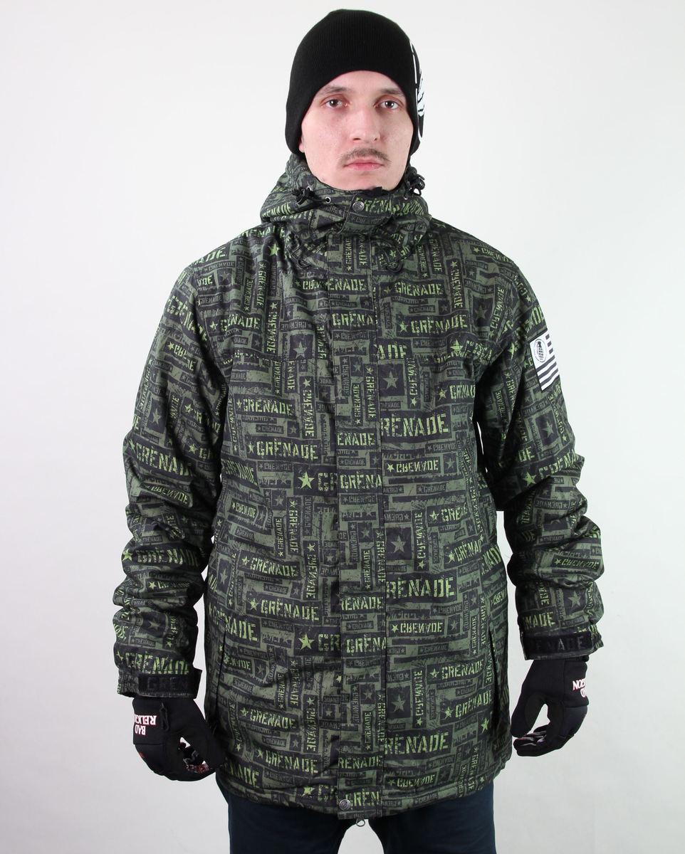 bunda pánská zimní SNB - GRENADE - Task Force - Green