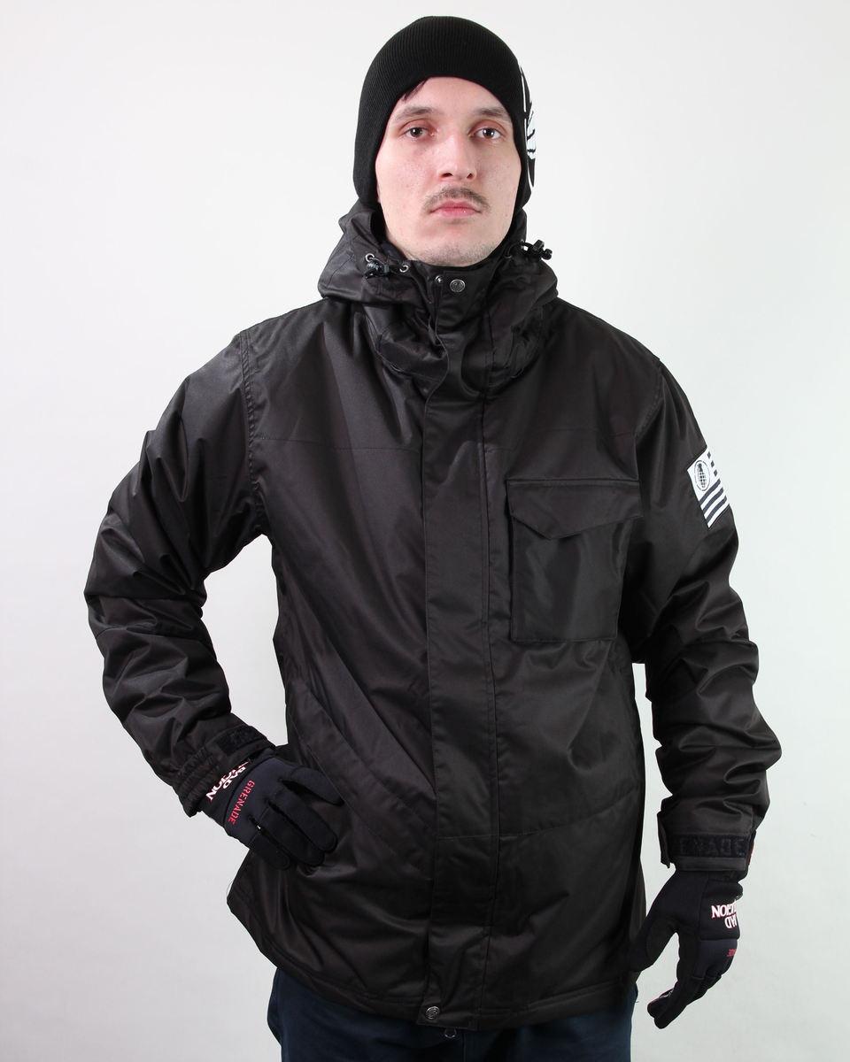 bunda pánská zimní SNB GRENADE - Black Hawk - Blk