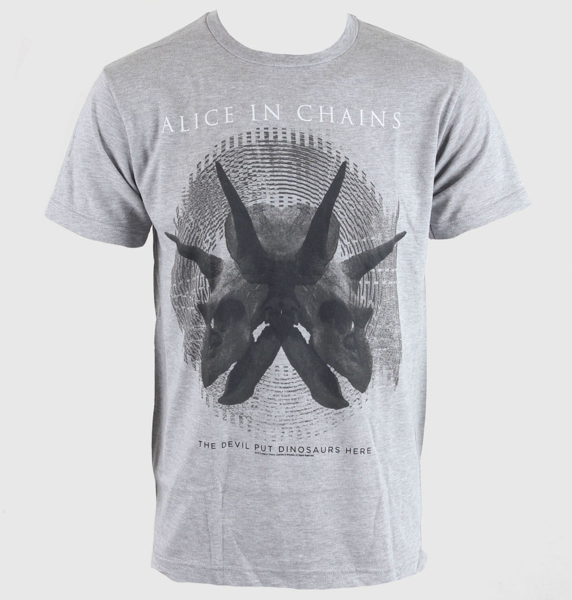 BRAVADO Alice In Chains Tar Pit šedá