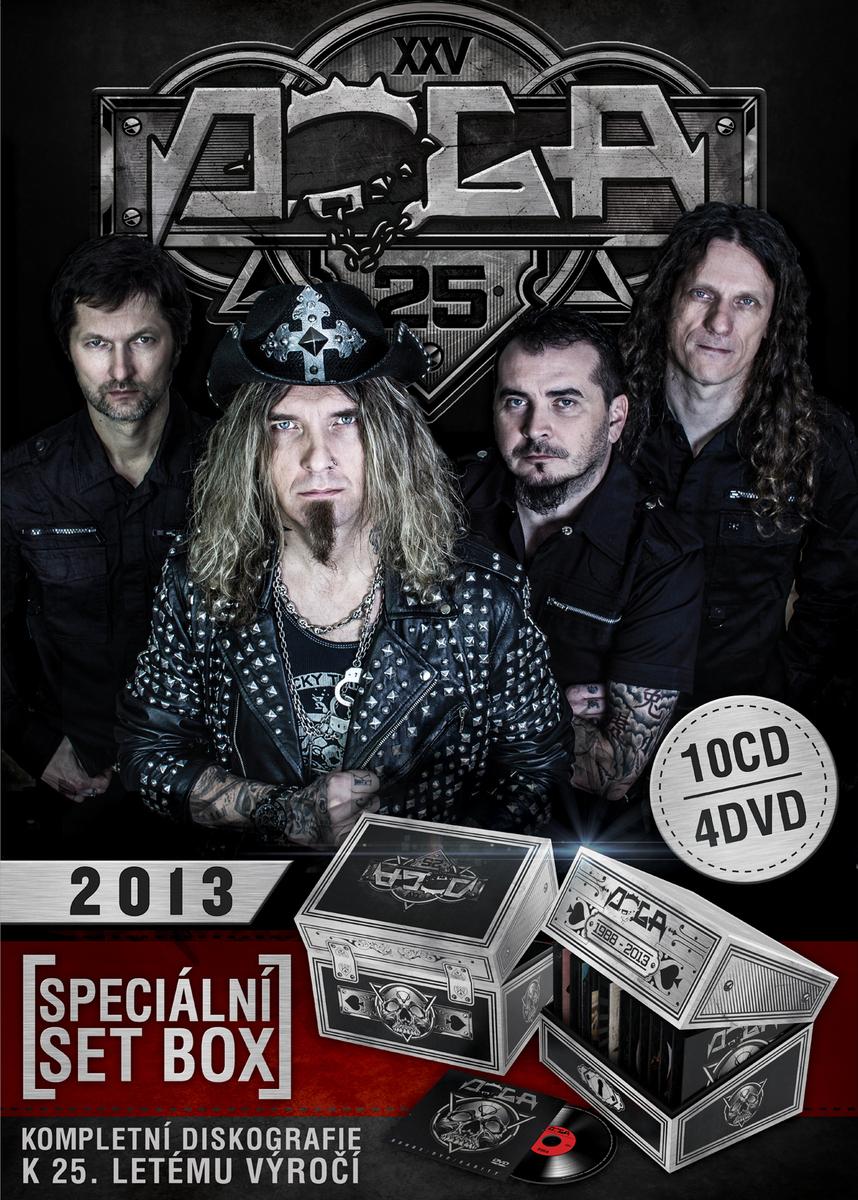 speciální set box DOGA - 10 CD + 4DVD