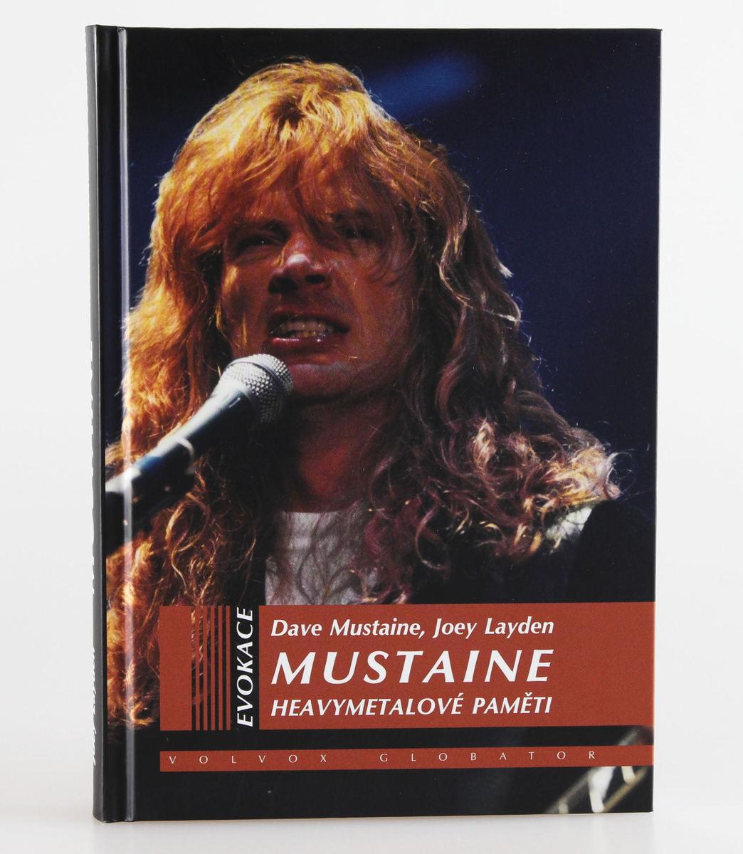 kniha Heavymetalové paměti - Dave Mustaine, Joey Layden - VOL026
