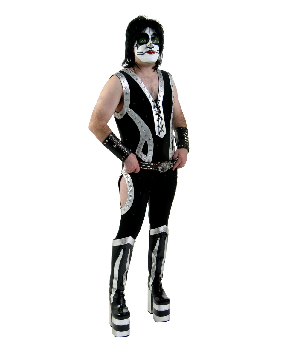 bunda jarněpodzimní dámské Kiss - Authentic Catman Rock The Nation Costume - NNM -